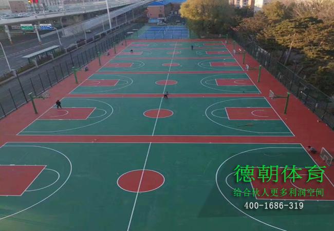新疆硅pu球场材料