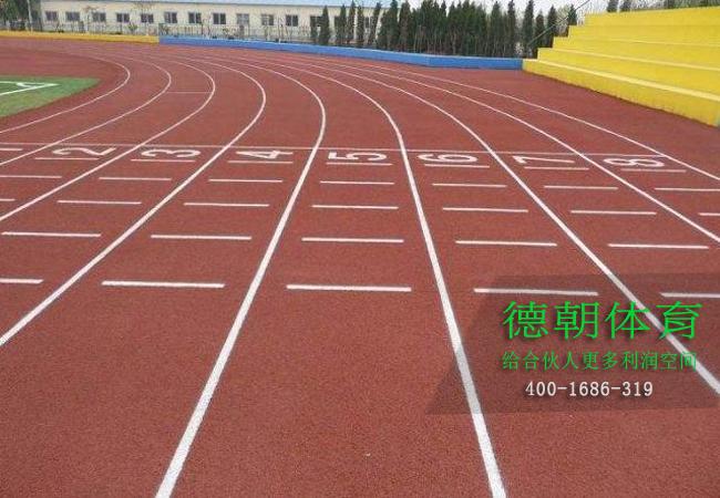 新国标塑胶跑道施工