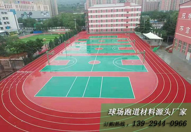 广东塑胶跑道生产厂家