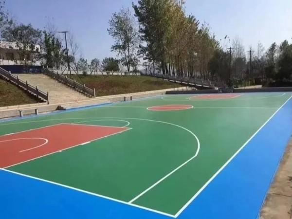 室内外篮球场地面