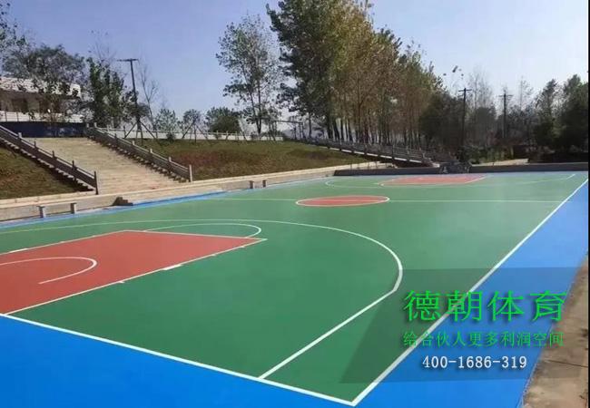 江苏铺设硅PU篮球场的标准造价