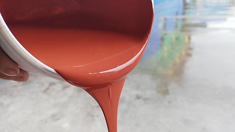 硬地丙烯酸水性面漆