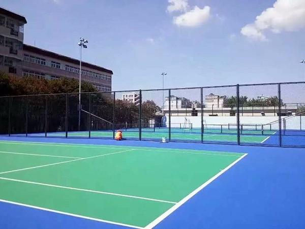 户外丙烯酸网球场