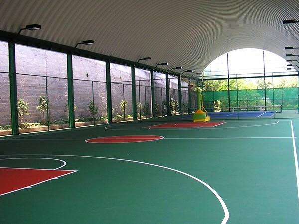 云南铺设硅PU篮球场的标准造价