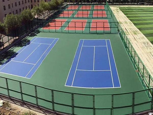 安徽新国标硅PU球场