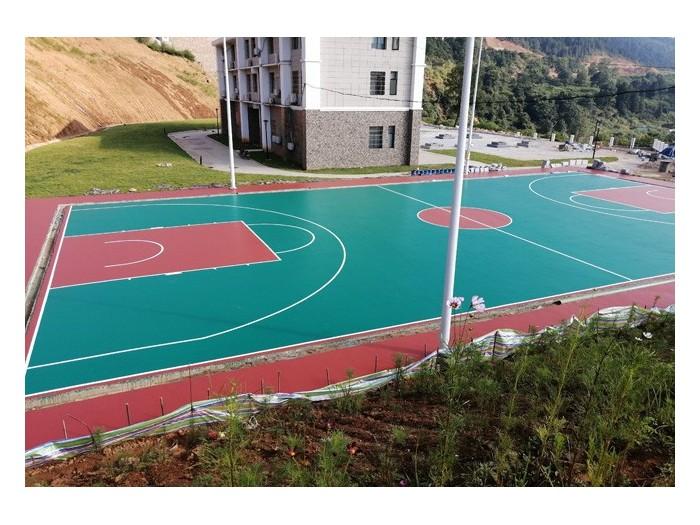 江西莲花县570平方硅PU完工,材料由这家公司提供[德朝体育]