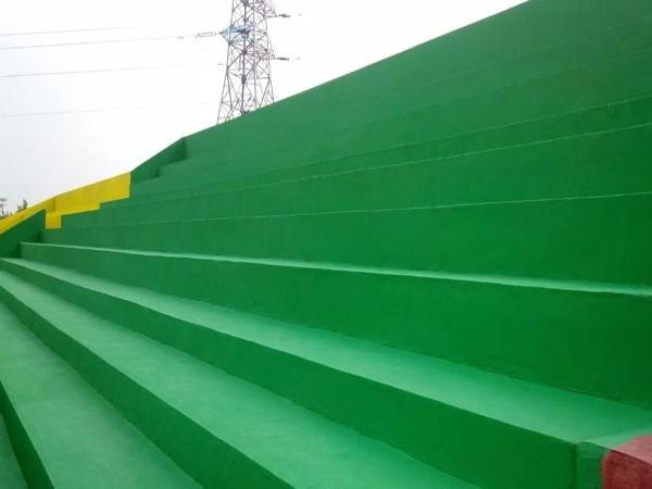 丙烯酸球场材料能做跑道场地吗?