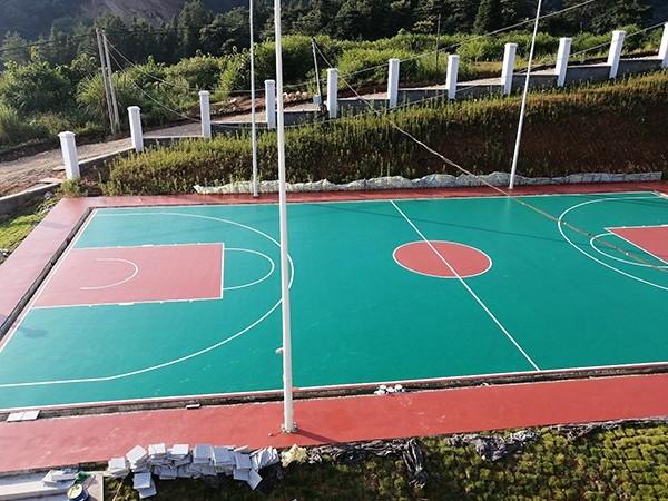 北京硅pu球场材料