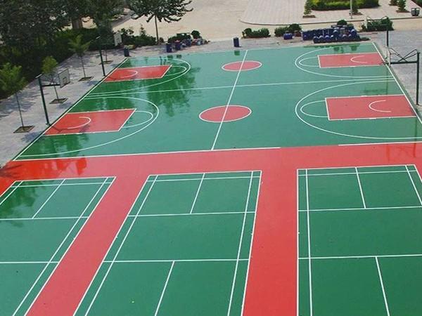 四川铺设硅PU篮球场的标准造价