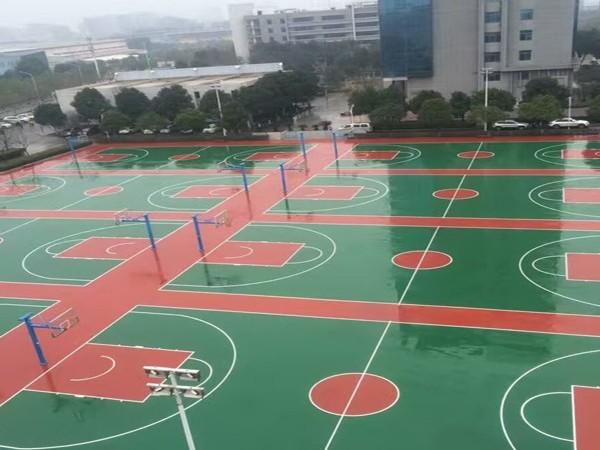 湖南新国标硅PU球场