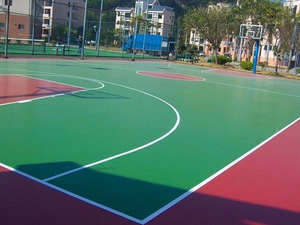 河南新国标硅PU球场