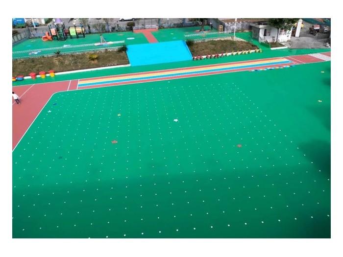 幼儿园硅PU球场