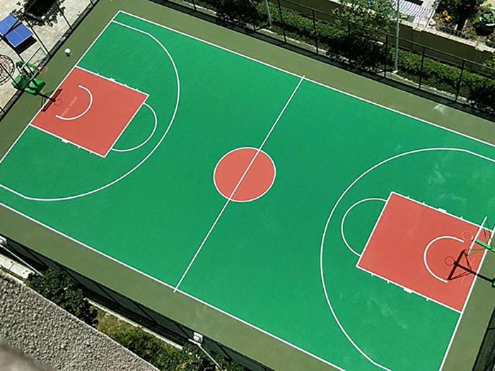 丙烯酸室外篮球场