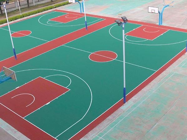 塑胶篮球场材料