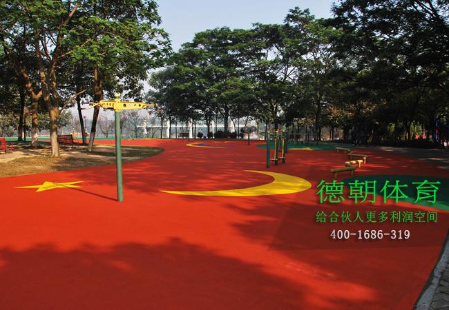 彩色EPDM塑胶跑道